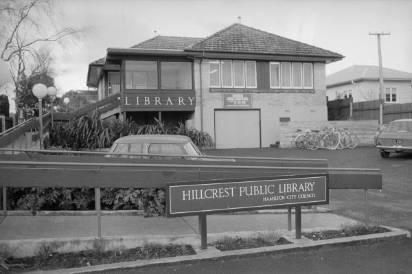 Old Hillcrest Library