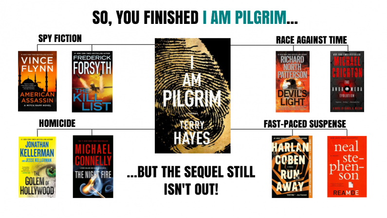 I am Pilgrim Reading map