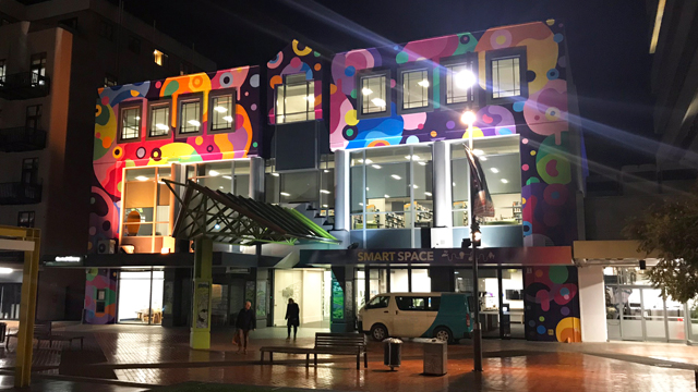 Central Library Night